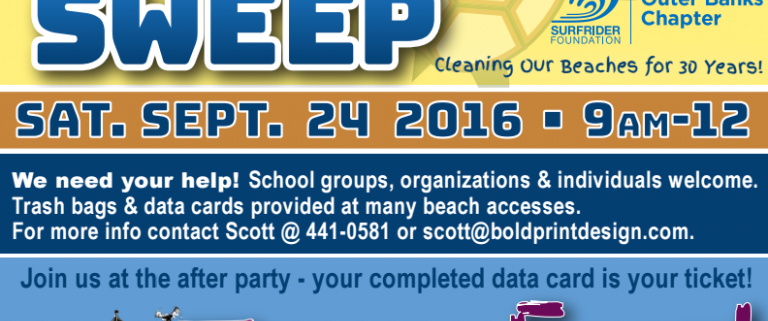 Beach Sweep / Trash Fest - Outer Banks Events Calendar