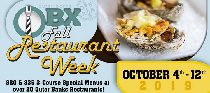 Outer Banks events - Fall Restaurant Week