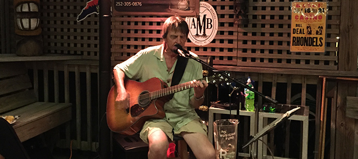 Outer Banks live music - Joe Bowling