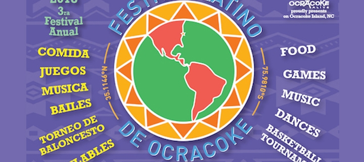 Outer Banks events - Festival Latino de Ocracoke - Mexican food music dance