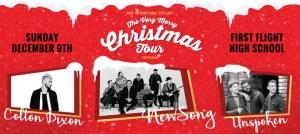 Outer Banks Events - Christmas concert - NewSong Colton Dixon Unspoken