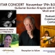 Outer Banks events - live music - guitar concert - Gordon Kreplin Maili Fleck - Rodanthe Community Center