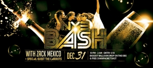 Outer Banks events - New Years Eve - Zack Mexico - Brewing Station