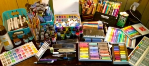 Outer Banks events - Mixed Media art class - Brewing Station