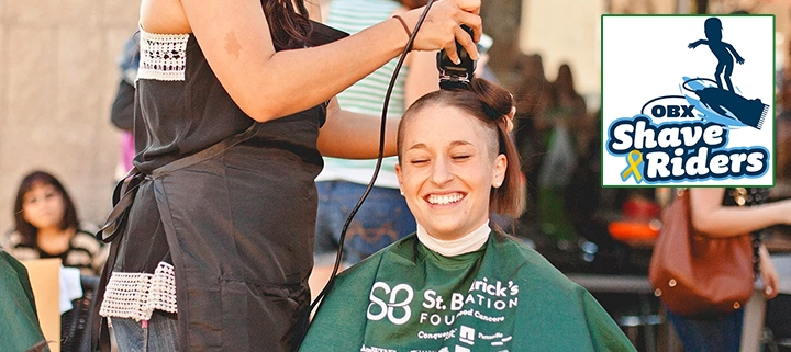 Outer Banks events - childhood cancer - St. Baldrick's Foundation - OBX Shave Riders