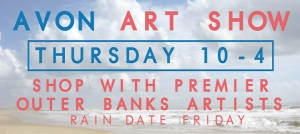 Outer Banks events - Avon Art Show - Hatteras Island Arts and Crafts Guild