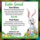 Outer Banks Easter dinner specials - Jolly Roger restaurant