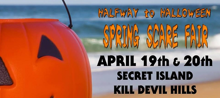 Outer Banks events - Spring Scare Fair - Secret Island Restaurant