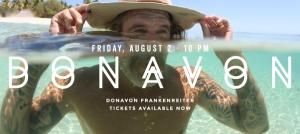 Outer Banks live music events - Donovan Frankenreiter - Outer Banks Brewing Station