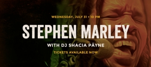 Outer Banks live music events - Stephen Marley - Outer Banks Brewing Station