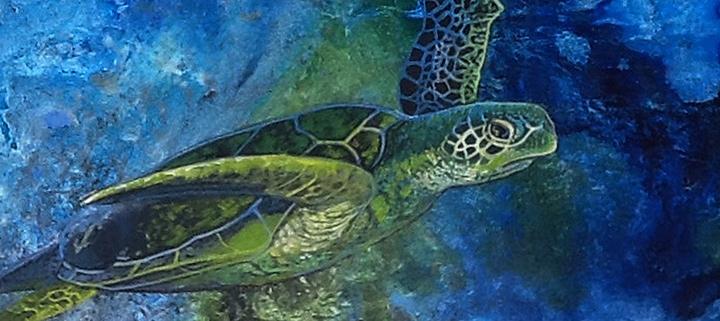 Outer Banks art gallery exhibits - Ocracoke Artist Group Show - Dare County Arts Council