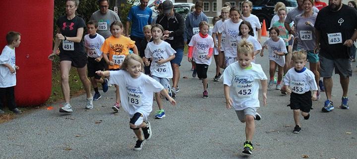 Outer Banks races - Kitty Hawk Elementary School PTA - Flying Falcon Road Race