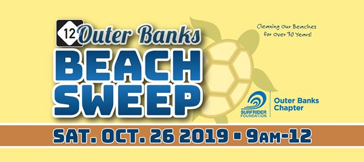Outer Banks Beach Sweep 2019 - cleanup - Surfrider Foundation