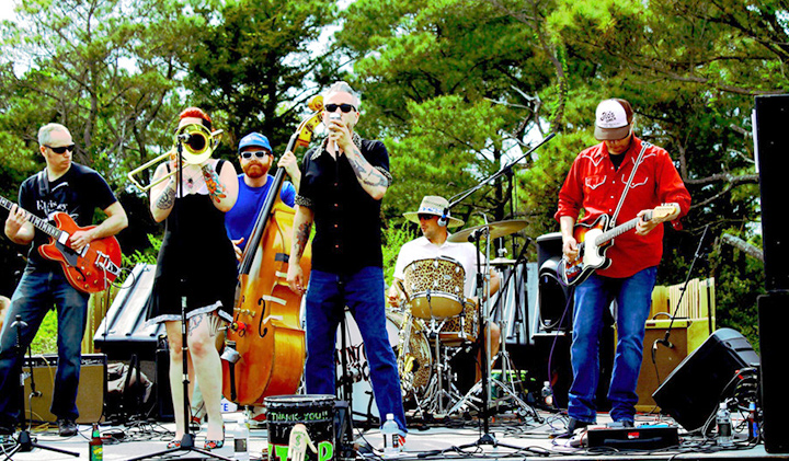 Outer Banks events - music concert - Adwela and the Uprising - OB Brewing Station
