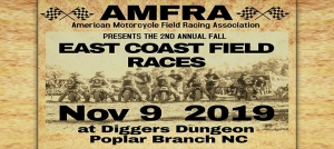 Outer Banks events - motorcycle races - field racing - Digger's Dungeon