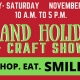 holiday craft fair event in Manteo