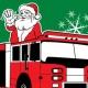 Outer Banks - meet Santa Claus - Kitty Hawk Fire Department