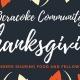 Outer Banks Thanksgiving - Ocracoke Disaster Relief fundraiser dinner
