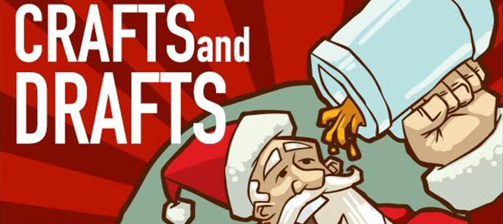 Outer Banks events - Crafts and Drafts - holiday gift vendors - beer
