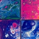 Outer Banks art classes - Fluid Art Coaster Workshop - Brewing Station