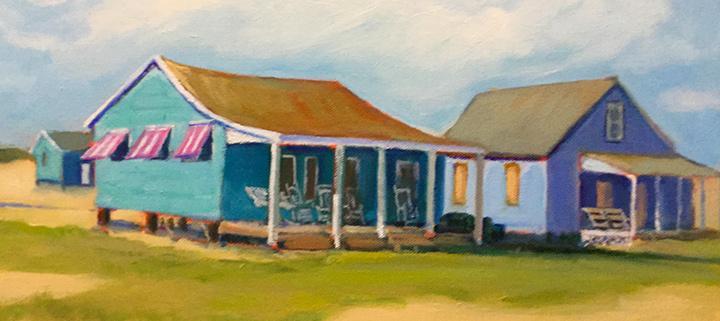 Outer Banks events - Janet Pierce solo art exhibit - Dare County Arts Council