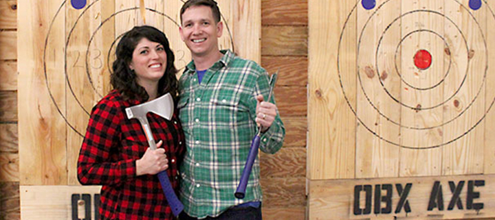 Outer Banks sports - Axe Throwing League at Jumpmasters
