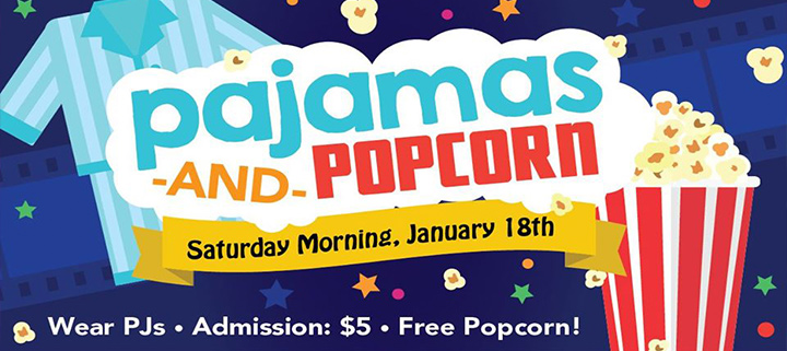 Outer Banks movies - Pajamas and Popcorn Saturday morning special