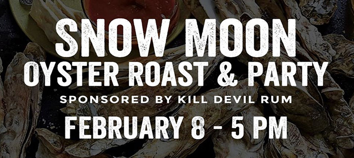 Outer Banks events - oyster roast at Outer Banks Brewing Station - Kill Devil Rum