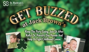 Outer Banks events - childhood cancer - OBX Shave Riders - Jack Browns - St. Patrick's Day